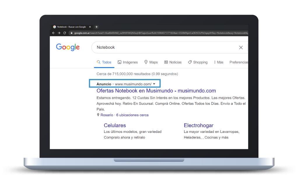 Servicio de Anuncios en Google (Posicionamiento SEO) en Más Vale Comunicar
